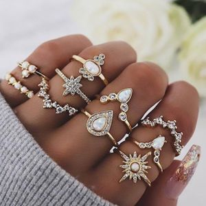 ✨Stellar Midi Ring Set 10 pcs✨